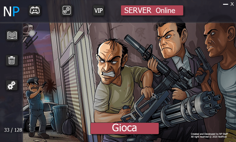 French GTA RP Server Launcher