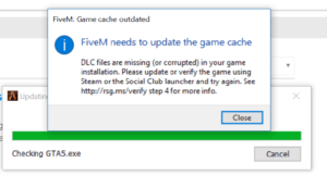 Clear the FiveM Cache